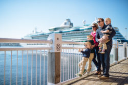 Family on the Boardwalk