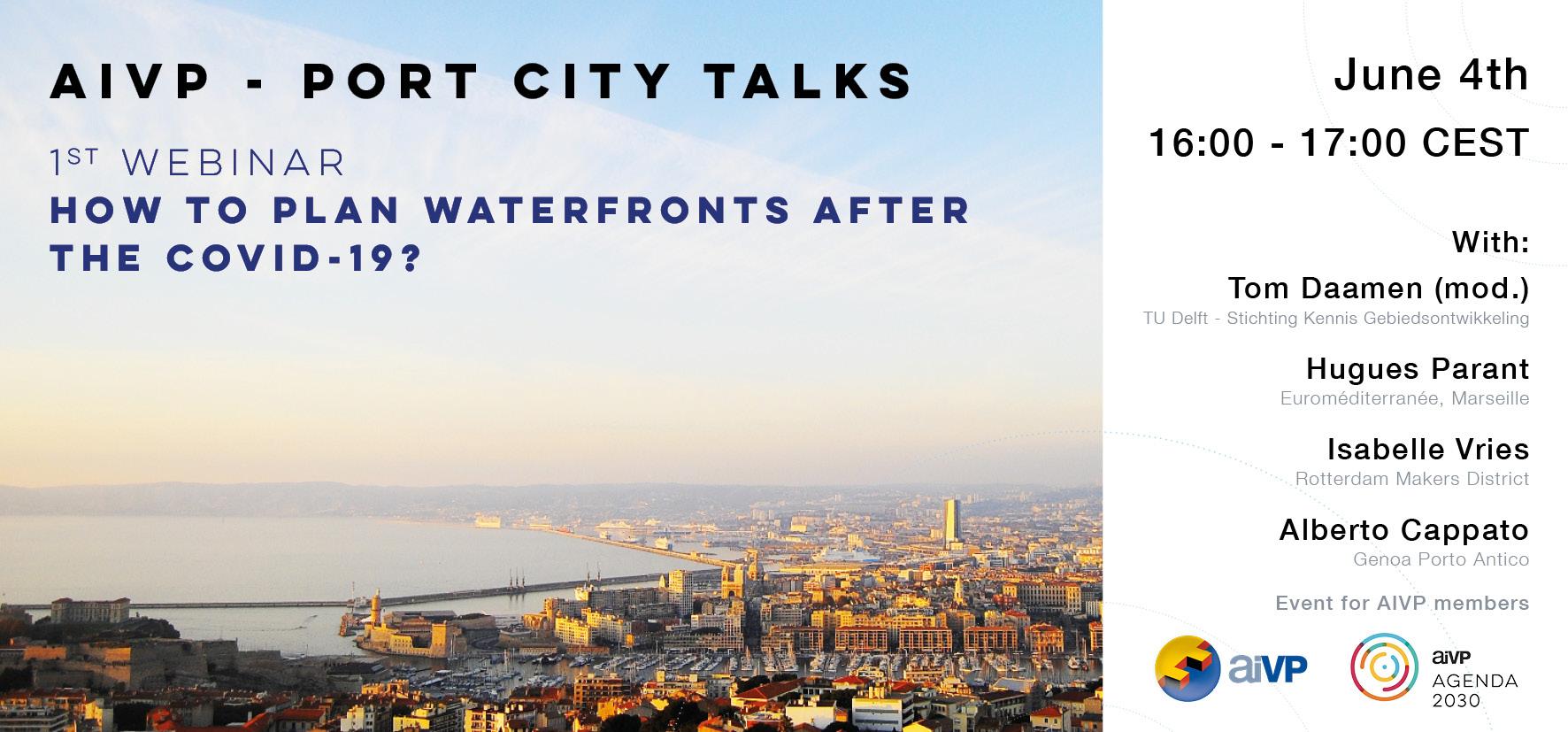AIVP Port City Talks : Waterfronts, Croisières et Ports Centers
