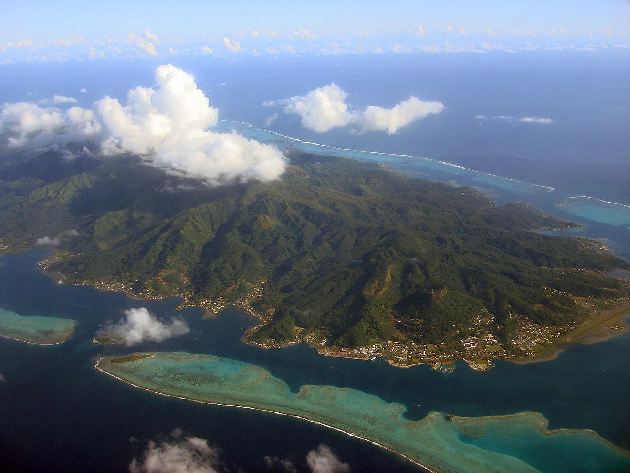 Vue aérienne Papeete