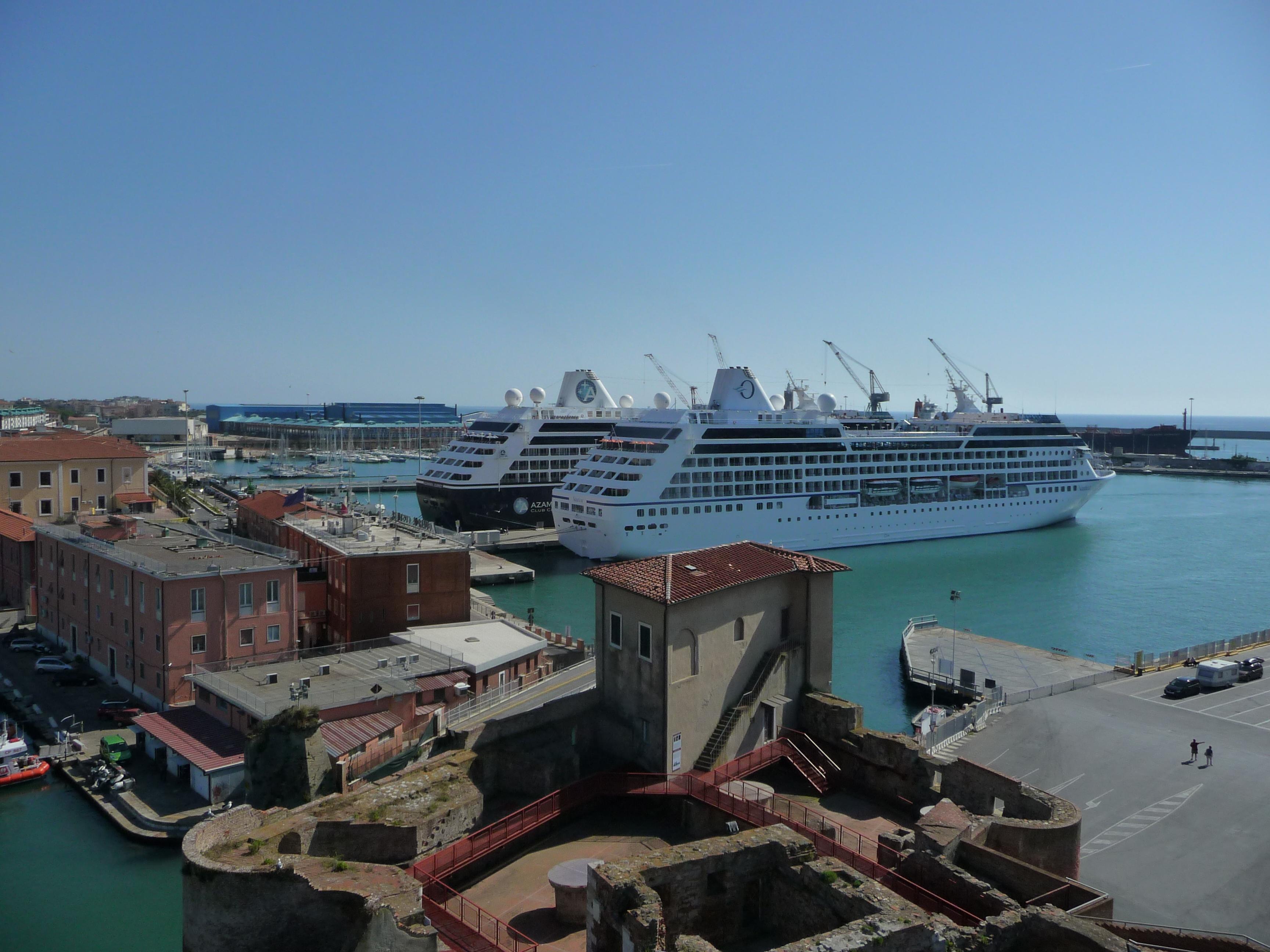 Navires de croisière à Livourne