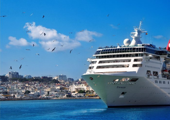 Navire de croisière à Tanger