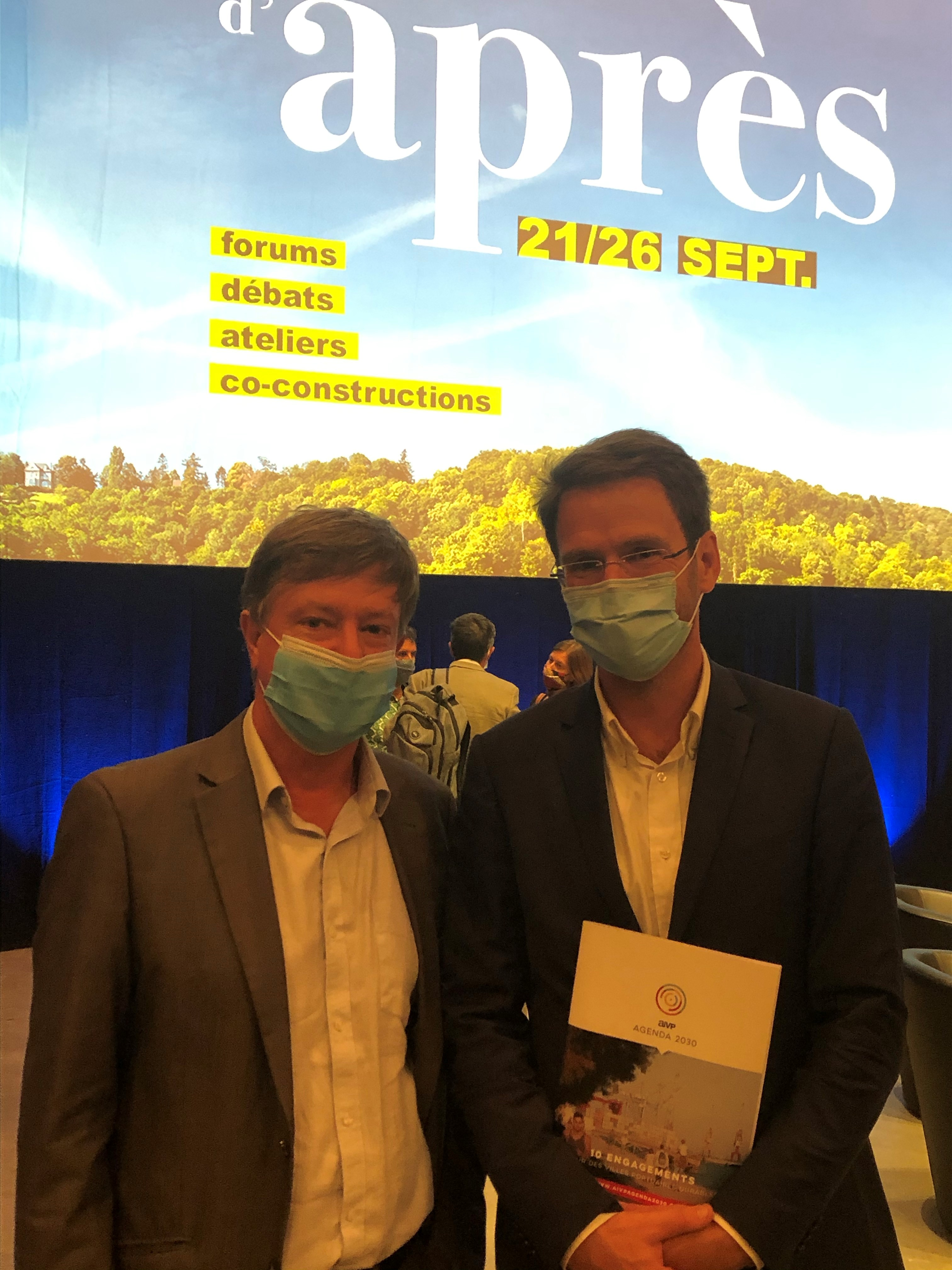 Olivier Lemaire et Nicolas Mayer Rossignol