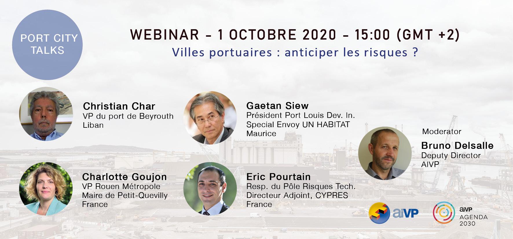 Villes portuaires : anticiper les risques ?