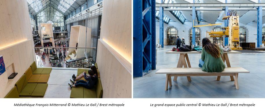 Brest Médiathèque Projet des Capucins