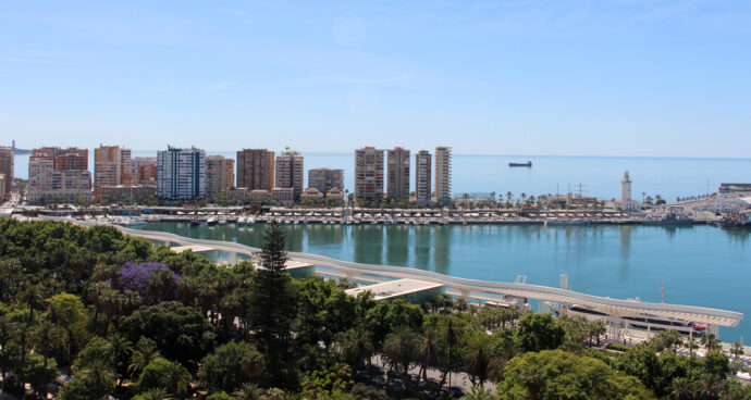 Málaga, Waterfront,