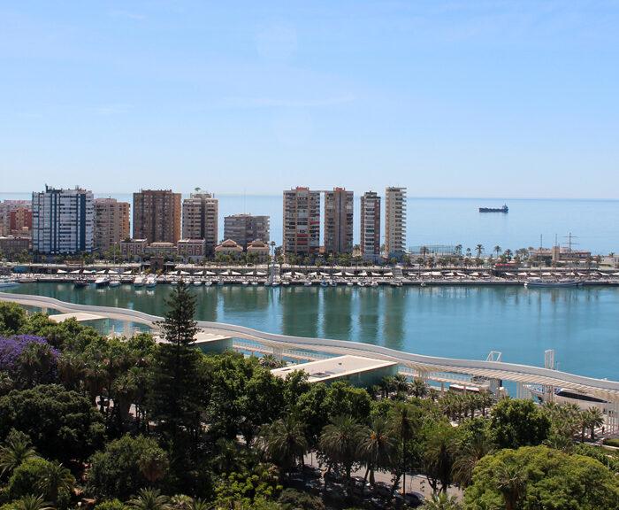 Waterfront of Malaga
