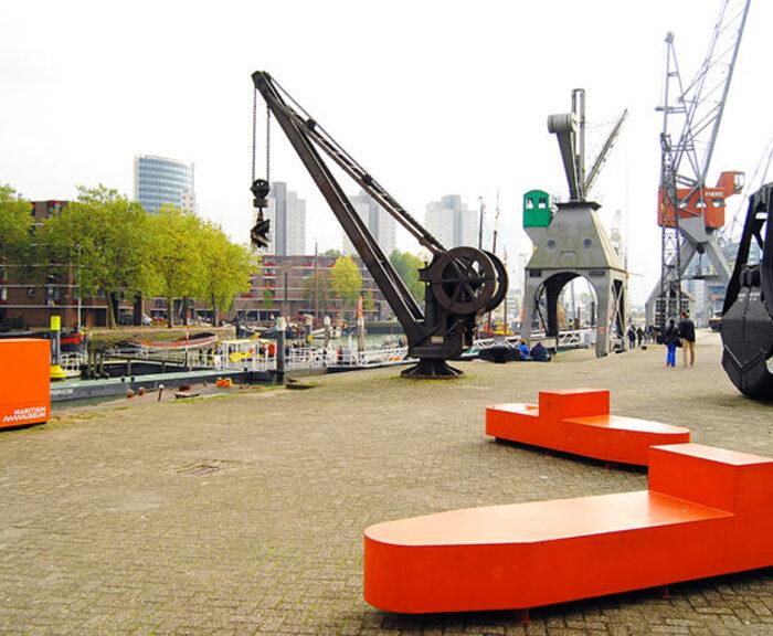Rotterdam waterfront, maritime museum,. heritage