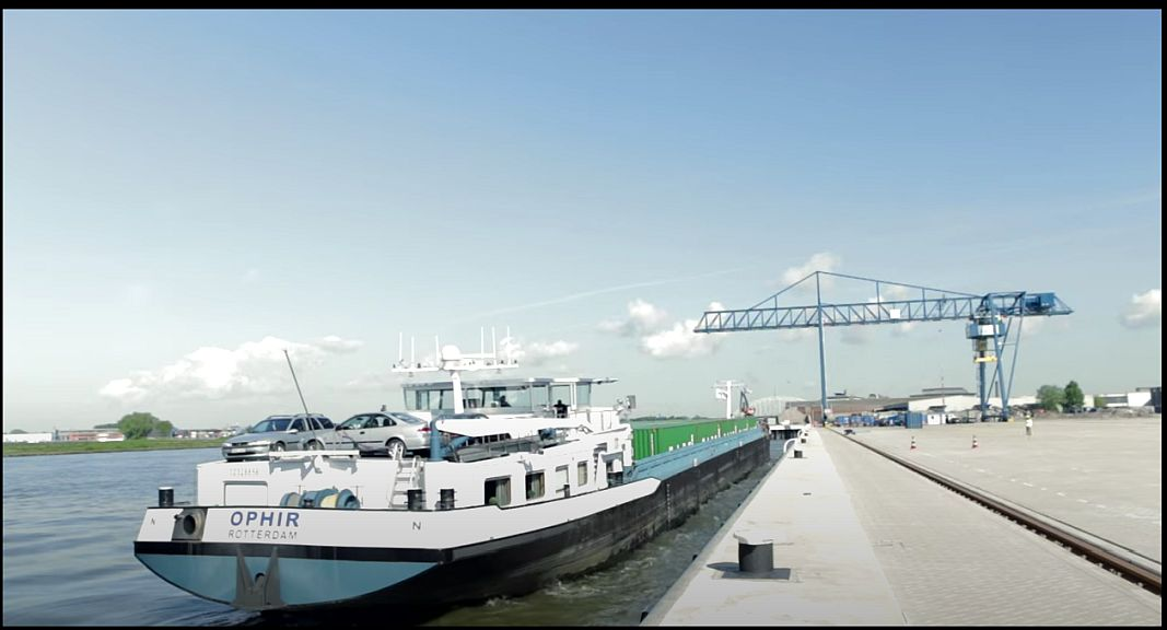 Port of Rotterdam - Sustainable mobility -Transferium
