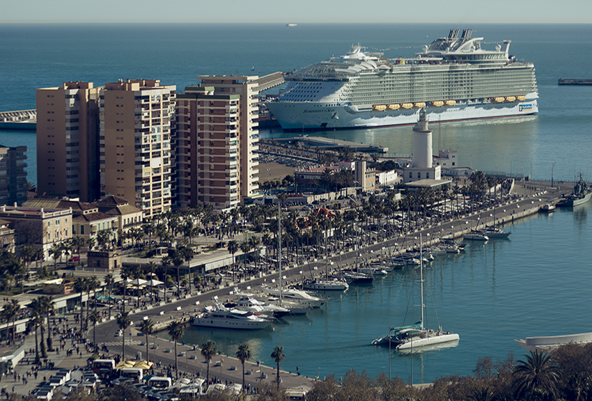Symphony of the Seas en Málaga