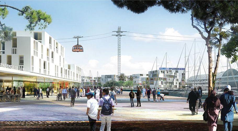 Tanger Projet Ville Port, Téléphérique