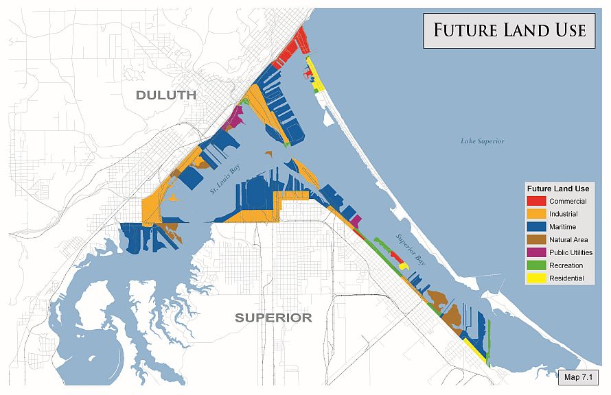 Port City of Duluth - Land use planning