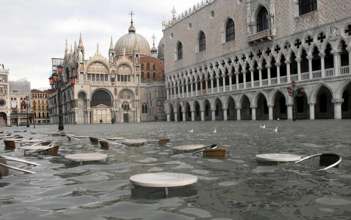 innondations à Venise en 2019