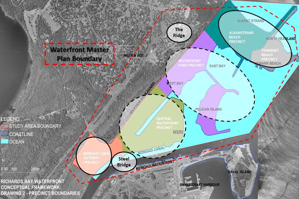 Richards Bay waterfront - conceptual framework