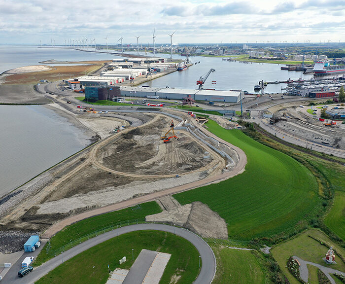 Marconi waterfront development, Gemeente Delfzijl, The Netherlands. EcoShape