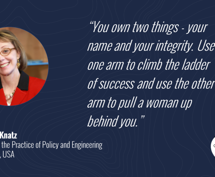 """You own two things - your name and your integrity. Use one arm to climb the ladder of success and use the other arm to pull a woman up behind you."""