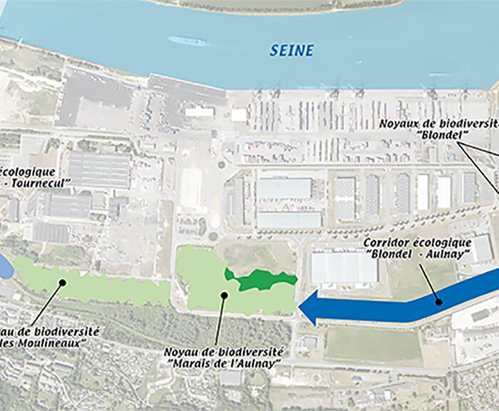 HAROPA Port Rouen - Ecological corridors